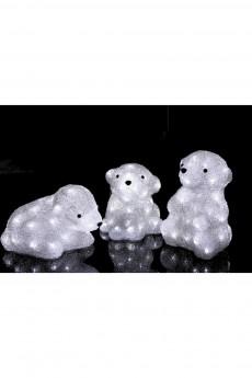 Акриловая светодиодная фигура «Медвежата»
