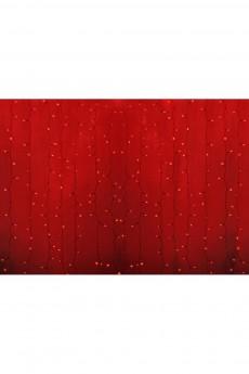 Гирлянда 2х3м, диоды КРАСНЫЕ «Светодиодный Дождь»