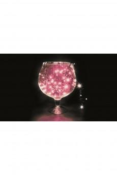 Гирлянда 10 м, 100 диодов, цвет розовый «Твинкл Лайт»