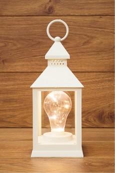 Украшение для интерьера светящееся «Фонарь с лампой»