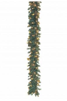 Гирлянда 2,7м, 100 микроламп, цвет тёплый белый «Еловый шлейф»