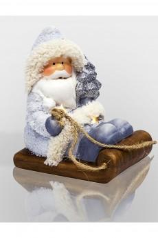 Керамическая фигурка «Дед Мороз на санях»