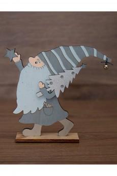 Деревянная фигурка «Гномик»