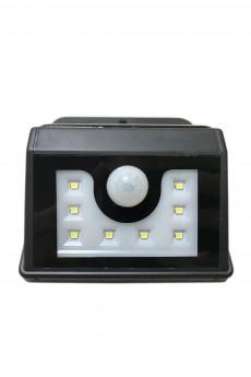 Садовый светильник настенный на солнечной батарее с датчиком движения и освещенности «LAMPER»