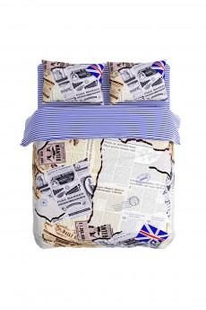 Постельное белье Евро «Вырезки»