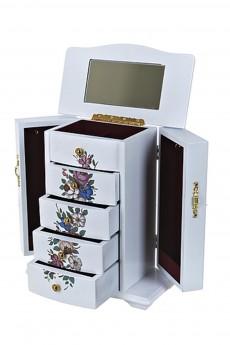 Шкатулка для ювелирных украшений «Цветочная гармония»