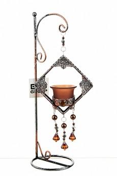 Подсвечник декоративный для 1-й свечи «Рококо»