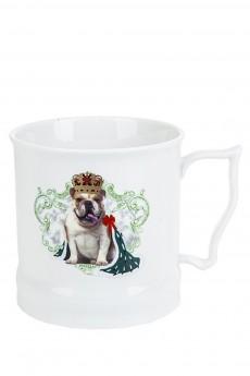 Кружка фарфоровая «Королевские собаки»