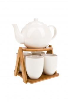 Чайный набор 5 предметов (на 4 персоны) «Naturel»