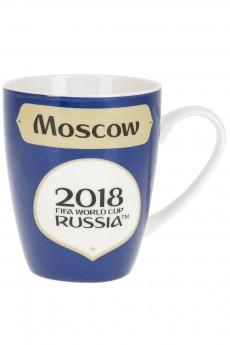 Кружка фарфоровая «ЧМ 2018/Moscow»