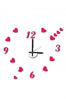 Часы настенные «Сердечки»