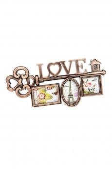 Фоторамка для 3-х фото «Love»