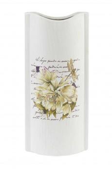 Ваза декоративная «Белая лилия»