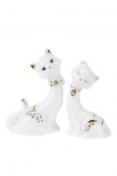 Фигурка «Белые кошечки»
