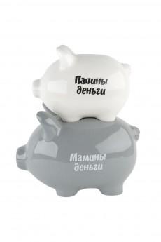 Копилка «Хрюшки/Папины деньги/Мамины деньги»