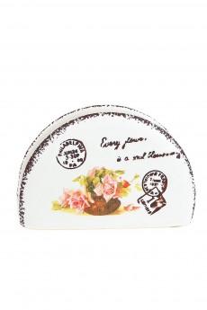 Салфетница «Персиковая роза»