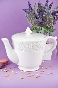 Чайник «Белый узор»