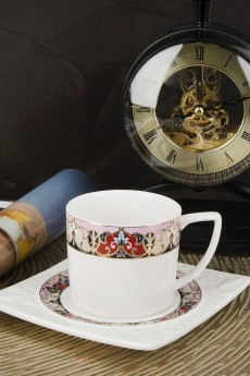 Кофейный набор 12 предметов «Царственная лилия»