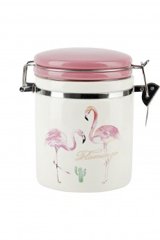 Банка для сыпучих продуктов «Фламинго»