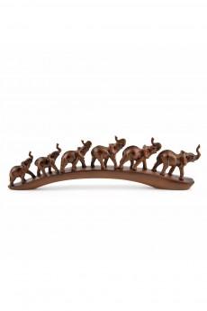 Фигурка декоративная «Семья слонов»
