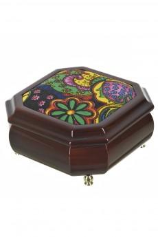 Шкатулка для ювелирных украшений «Цветочная поляна»