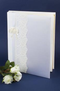 Свадебный альбом для фотографий «Кружева»