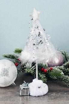 Фигурка новогодняя «Елка с подарками»