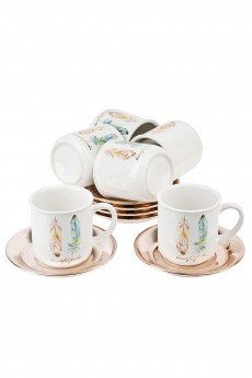 Чайный сервиз «Перья»