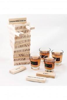 Алкогольная игра «Пьяная башня»