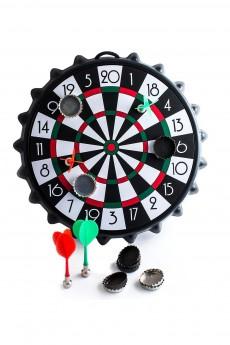 Дартс магнитный с пивными пробками «Цель»