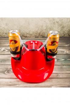 Каска с подставками под банки «Пивная шляпа»