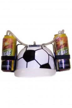 Каска с подставками под банки «Футбол»