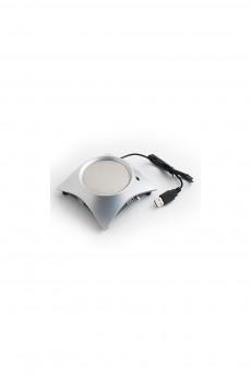 Разветвитель HUB с подставкой под чашку серый «Теплый напиток»