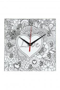 Часы раскраска «Love»