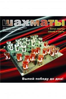 Шахматы со стопками «За победу до дна»
