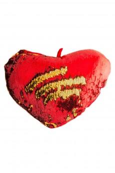Подушка хамелеон «Сердце»