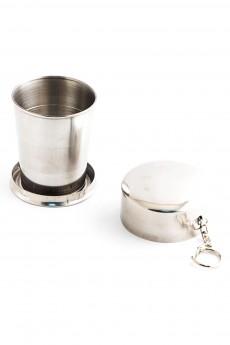 Складной металлический стаканчик 230 мл «Нержавейка»
