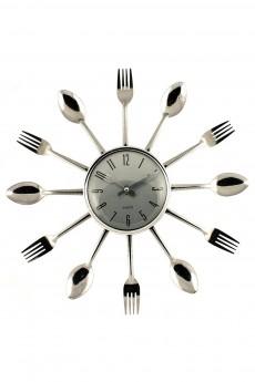 Часы настенные «Вилки-ложки»