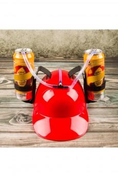 Каска с подставкой под банки «Красная»
