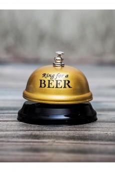 Звонок настольный «Ring for beer»