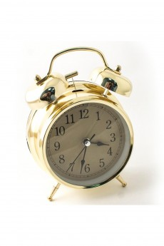 Часы будильник «Золото»