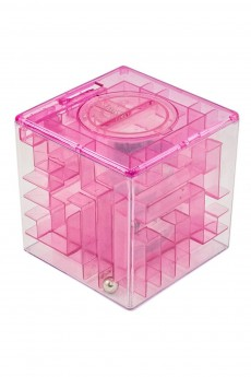 Копилка-головоломка «Розовая»