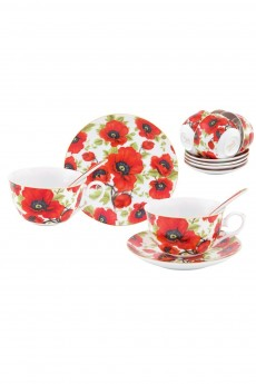 Чайный набор «Маки»