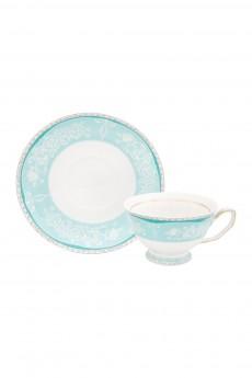 Чайная пара «Узор на бирюзовом»