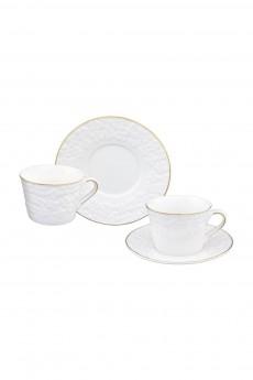 Чайная пара «Белоснежные цветы»