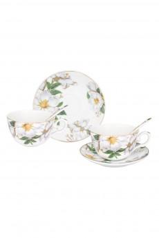 Чайная пара «Белый шиповник»