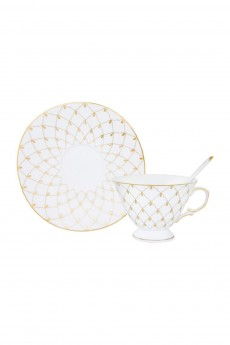 Чайная пара «Золотая сетка»