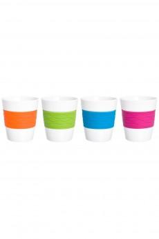 Набор 4 стаканов «Радуга»