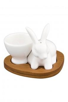 Подставка под яйцо «Белый кролик»
