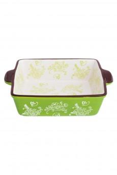 Блюдо для запекания «Цветочная симфония на зеленом»